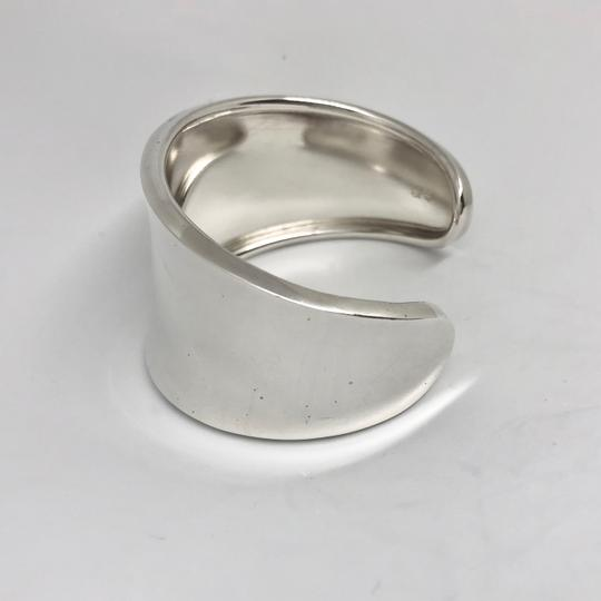 Robert Lee Morris RARE. Unisex. MADE IN THE USA Classic Wide Sterling Silver Cuff Image 4
