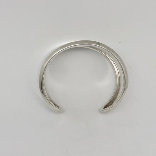 Robert Lee Morris RARE. Unisex. MADE IN THE USA Classic Wide Sterling Silver Cuff Image 5
