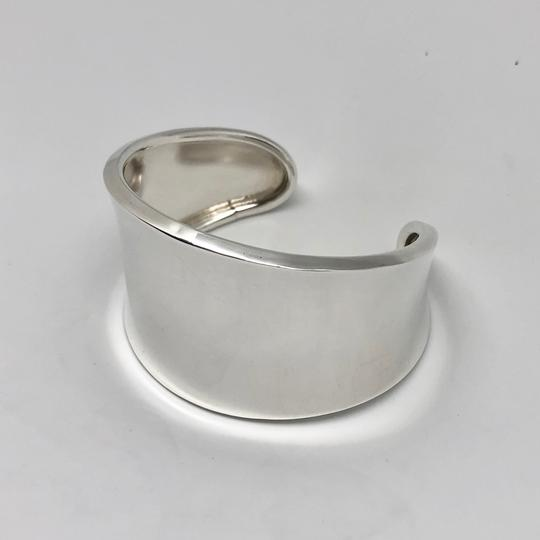 Robert Lee Morris RARE. Unisex. MADE IN THE USA Classic Wide Sterling Silver Cuff Image 8