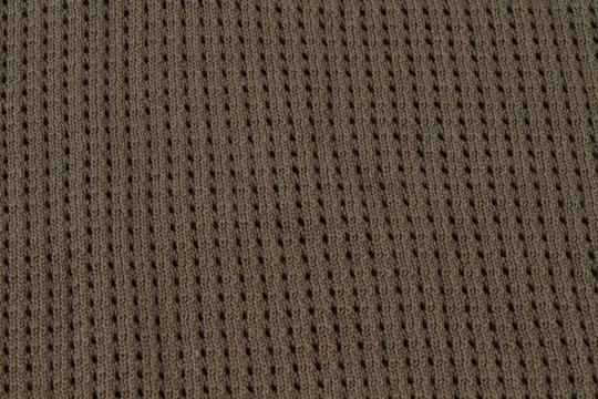 Green Olive Weave Mesh Cotton Knit Alessandro Polo M1760 Shirt Image 5