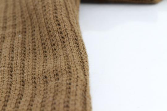 Green Olive Weave Mesh Cotton Knit Alessandro Polo M1760 Shirt Image 7