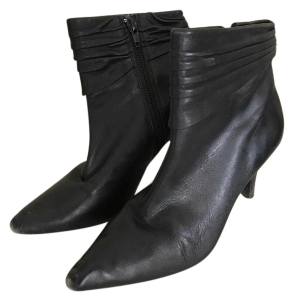 7b080bc16 Nordstrom Black Sandini Ankle Boots/Booties Size US 4 Narrow (Aa, N ...