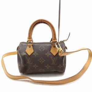 Louis Vuitton Nano Mini Bandouliere Speedie Speedy 20 Shoulder Bag