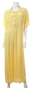 Yellow Maxi Dress by April Cornell Vintage Maxi