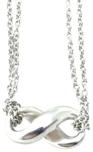 """Tiffany & Co. Tiffany & Co. Infinity Double Chains 16"""" Necklace"""