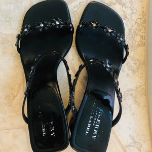 Burberry Blue Label Black Sandals