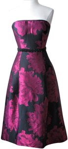 Carmen Marc Valvo Jacquard Dress