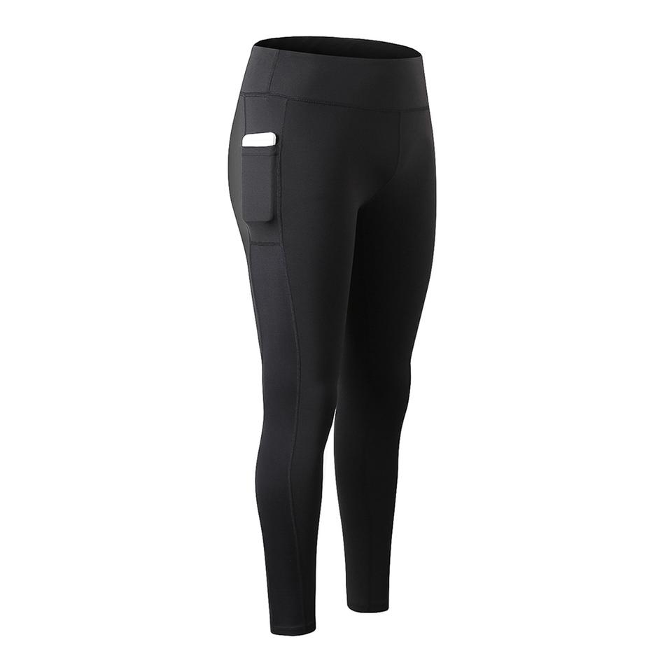 77fd172b5520f Black With Pocket Activewear Bottoms Size 4 (S, 27) - Tradesy