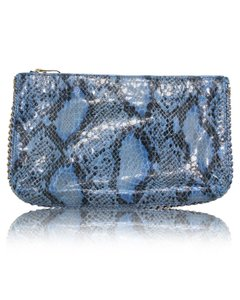 Stella McCartney Vegan Vegetarian Blue Clutch