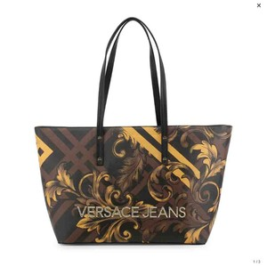 Versace Jeans Collection Tote in Brown