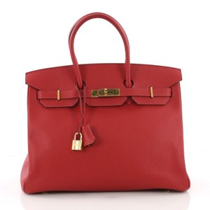 Hermès Birkin Rouge Tote in Red