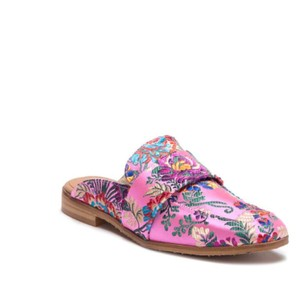 714d72fb802 Added to Shopping Bag. Free People Pink Flats. Free People Pink At Ease  Loafer Mule ...