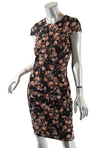 Worth short dress Multi Color Stretch Floral on Tradesy