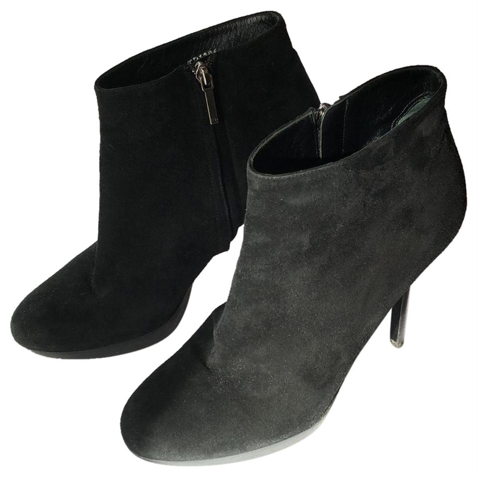 a147467813f Dior Black Suede Wood Platform High-heeled Ankle Boots/Booties Size US 8.5  Regular (M, B) 77% off retail
