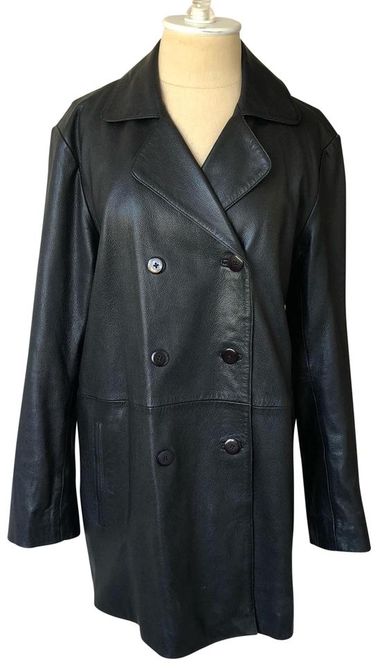 hot sales sale usa online new york Black Trench Coat Jacket