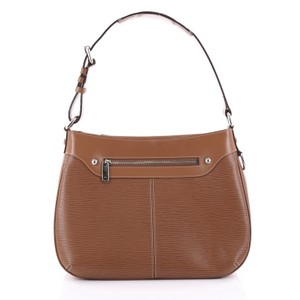 Louis Vuitton Leather Satchel in Light Brown