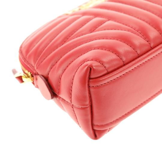 Prada quilted zip around make-up bag Image 10