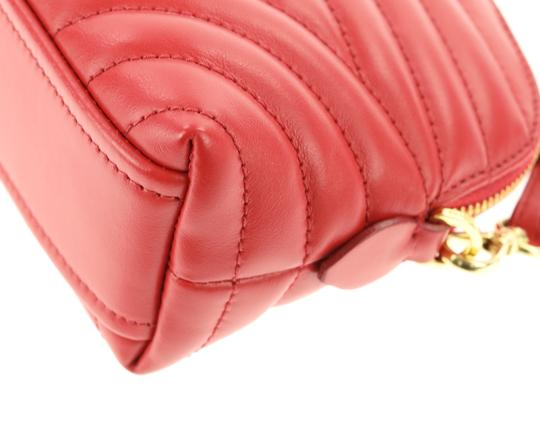 Prada quilted zip around make-up bag Image 7