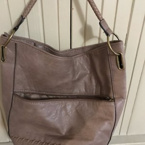 Bueno Collection Satchel in brown