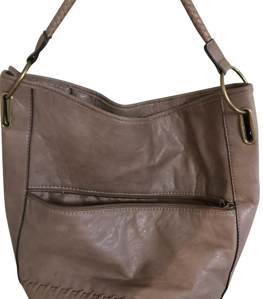 29def850aa Bueno Collection Brown Faux Leather Satchel - Tradesy