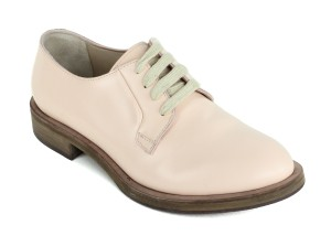 Brunello Cucinelli Leather Italian Light Pink Flats