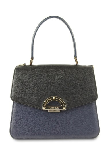 Preload https://img-static.tradesy.com/item/24317907/faure-le-page-two-tone-navy-black-parade-blue-leather-satchel-0-5-540-540.jpg