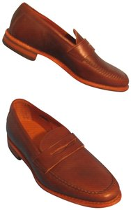 Allen Edmonds Addison Leather Penny Loafers Brown Flats