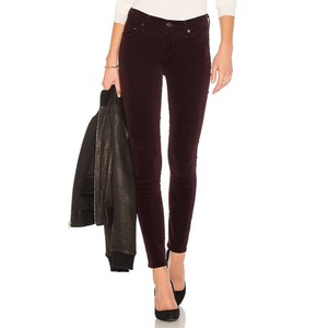 Citizens of Humanity Skinny Pants Burgundy, Red