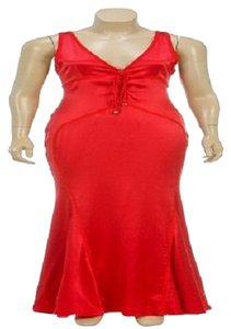 Red Maxi Dress by Emanuel Ungaro