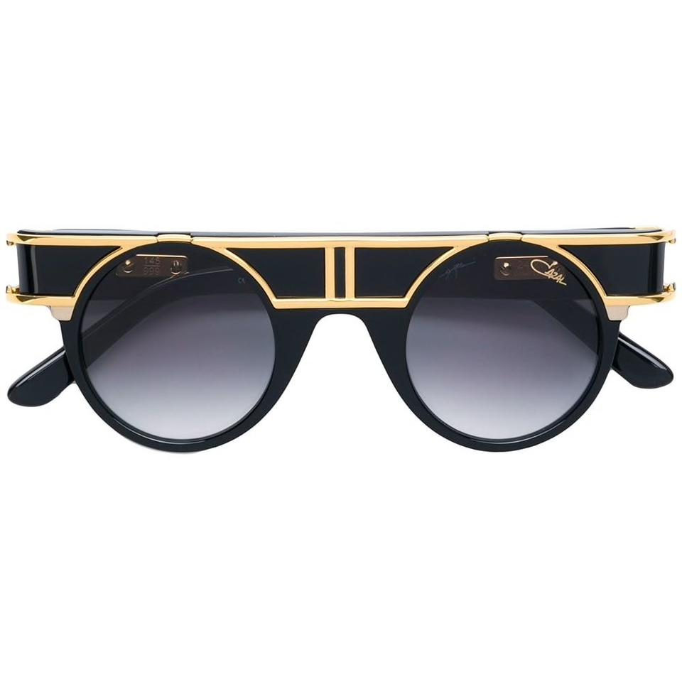 0dba047ba9cc Cazal Black Legends 002 Limited Edition 24k Gold Sunglasses - Tradesy