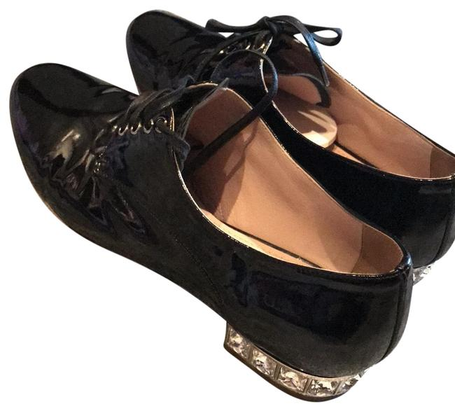 Item - Black Flats Size US 6.5 Narrow (Aa, N)