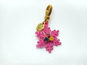 Juicy Couture Juicy Couture Limited Edition Pink Snowflake Charm - RETIRED