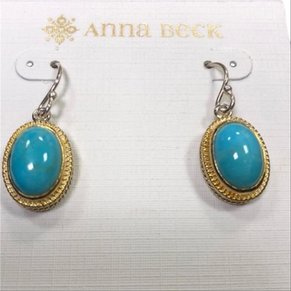 Anna Beck Turquoise Drop Earrings