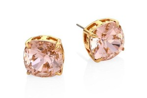 Tory Burch New Tory Burch Rose Gold Crystal Studs Earrings Dust Bag NWT