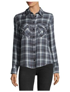 Zadig & Voltaire Button Down Shirt charbon