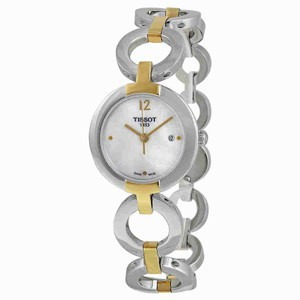 Tissot T-Lady Trend Pinky Mother of Pearl Dial Ladies Watch