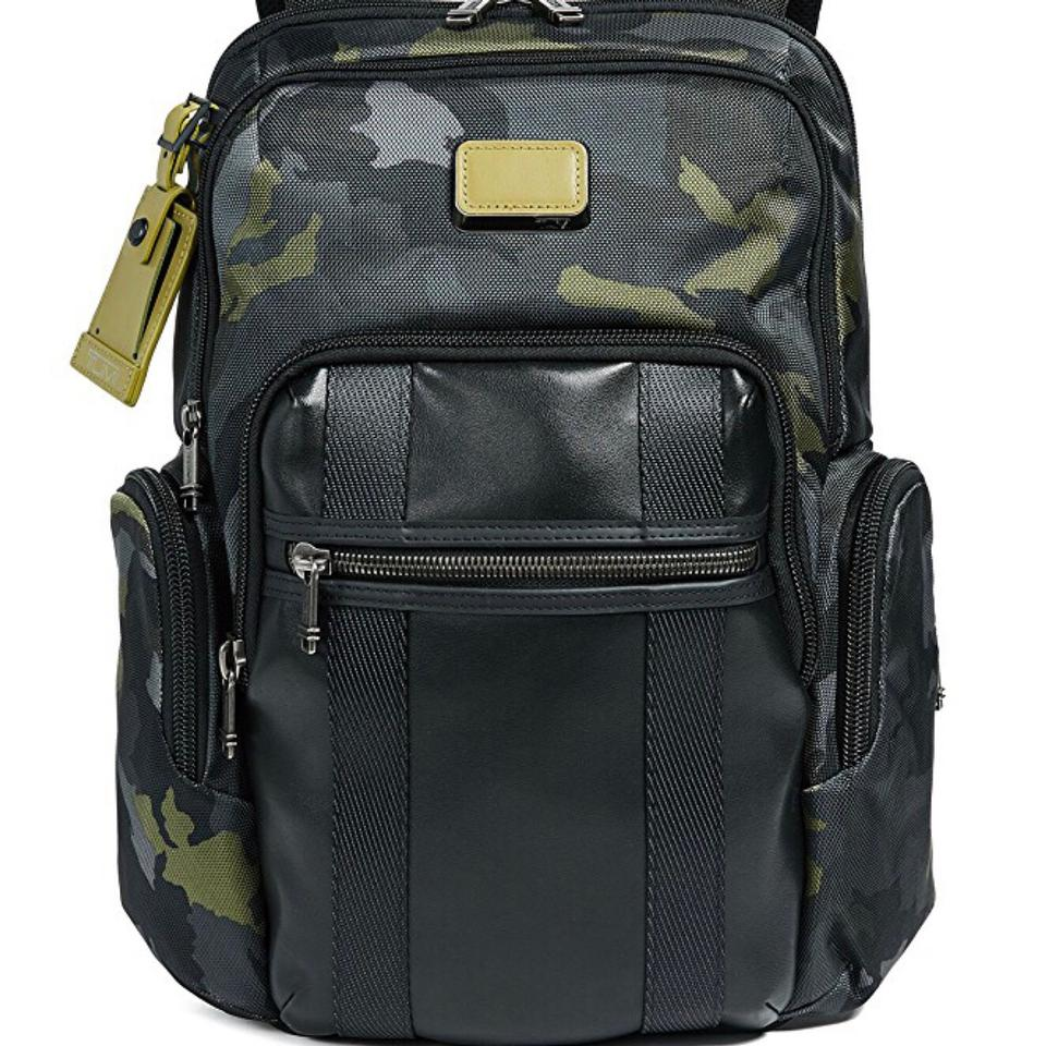 b15e2df29 Tumi Alpha Bravo Nellis Green Camo / Military Fabric Backpack - Tradesy