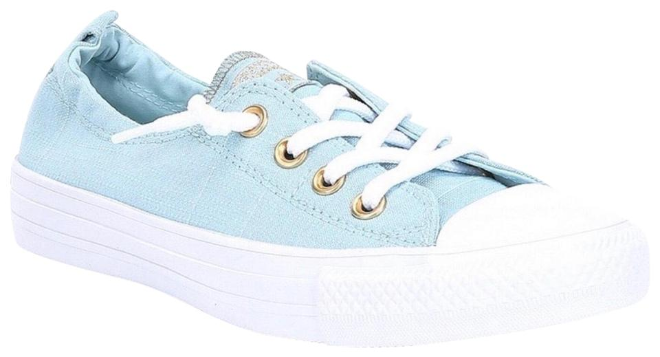 4de77a21b195 Converse Blue White On Chuck Taylor All Star Lo Ox Sneakers Sneakers ...