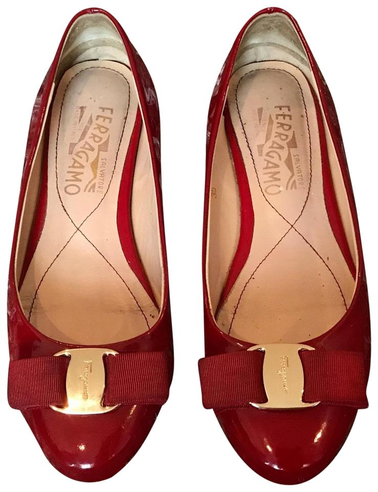 89369477a52 Red Classic Ballet Flats