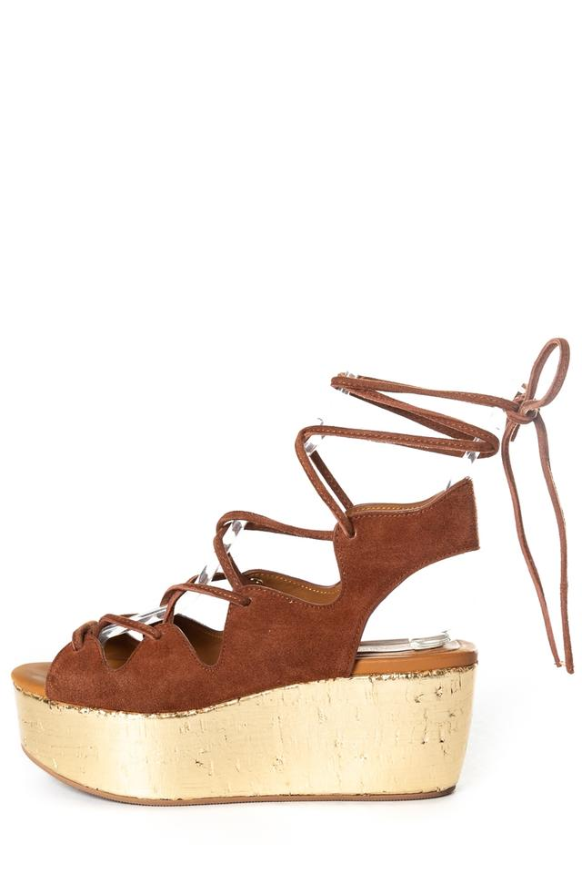 14958522772490 See by Chloé Brown Liana Sandals Platforms Size EU 36 (Approx. US 6 ...