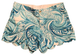 Lilly Pulitzer Dress Shorts sea ruffles