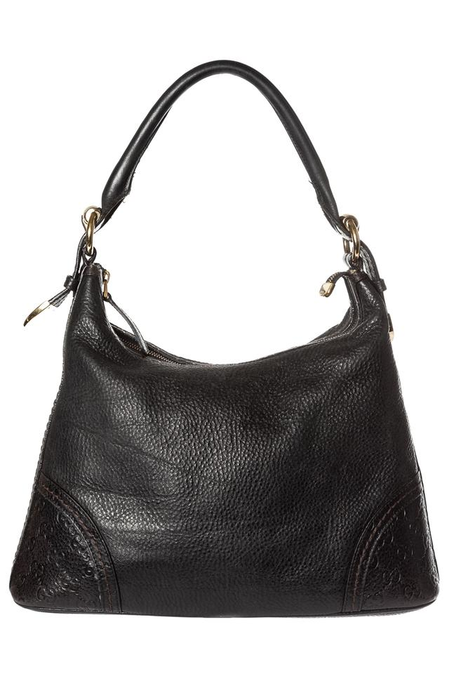 b06d4f2ad6c2 Gucci signoria sima lambskin black leather hobo bag tradesy jpg 640x960 Gucci  brown leather signoria hobo