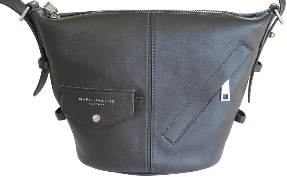 2294cf4a1f Marc Jacobs The Mini Sling Black Leather Cross Body Bag - Tradesy
