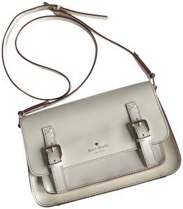 44108708c128 Kate Spade New York Essex Scout Off-white Leather Cross Body Bag ...