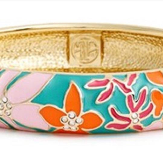 Lilly Pulitzer Palm Beach Enamel Bangle Bracelet