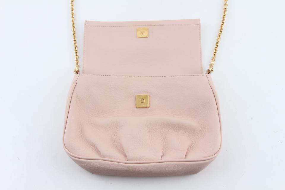 2bf19cc700 Fendi Fendista Pochette 8m0276 Pink Calfskin Leather Cross Body Bag -  Tradesy
