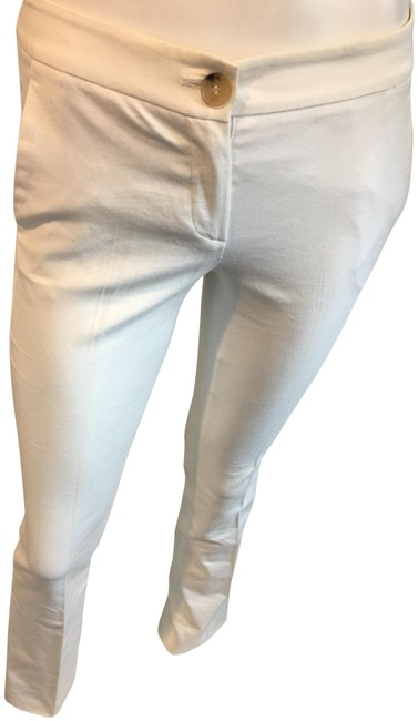 Item - White 10918 Straight Leg 0 Pants Size 0 (XS, 25)