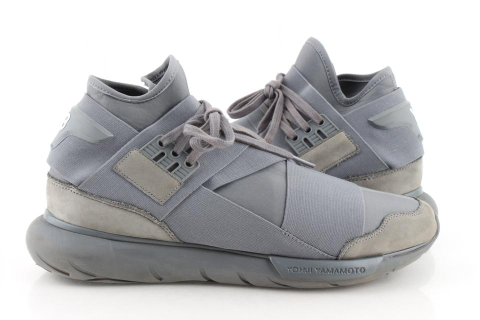 94e996770ae8a adidas X Yeezy Grey Y-3 Qasa High Shoes Image 0 ...