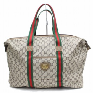 Gucci gray Travel Bag