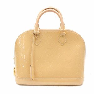 Louis Vuitton Satchel in beige